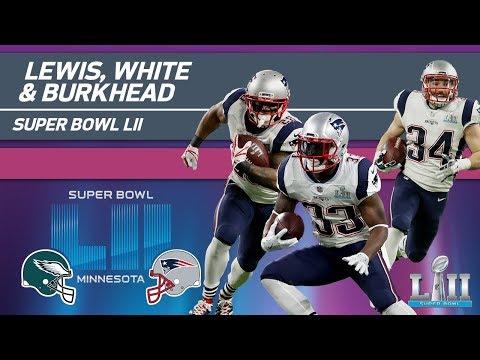 Video: Lewis, White & Burkhead COMBINE for 169 Yards! | Eagles vs. Patriots | Super Bowl LII Highlights
