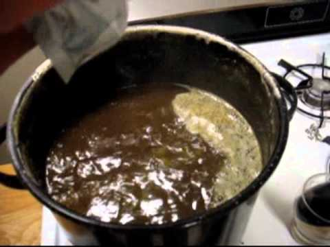 Home Brewing Step By Step (using malt extract)