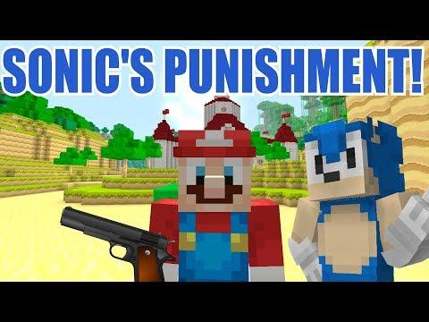 Minecraft Switch - Super Mario Series - SONIC'S PUNISHMENT [NOT GOOD] [207]