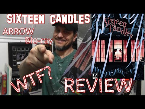 SIXTEEN CANDLES ARROW VIDEO BLU-RAY REVIEW & UNBOXING