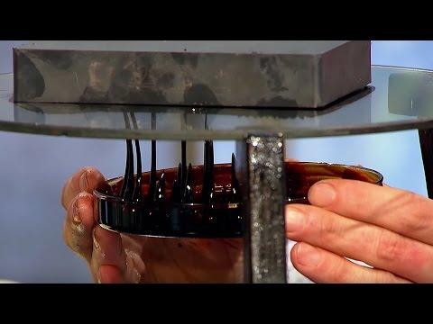 Magnetic Oil Experiment! | Dara Ó Briain's Science Club | Brit Lab