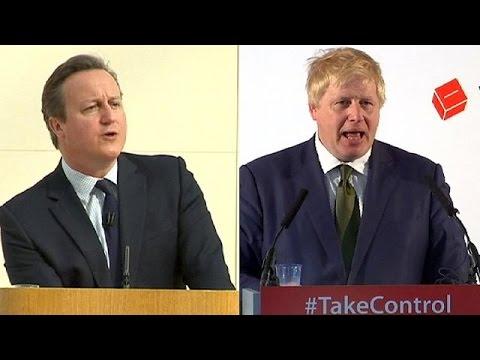 Brexit: Διαξιφισμοί Κάμερον – Τζόνσον, διχασμένοι οι ψηφοφόροι