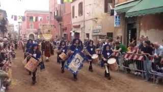 Campagnano Di Roma Italy  city photos gallery : Corteo Contrade Baccanale 2015 - Campagnano di Roma