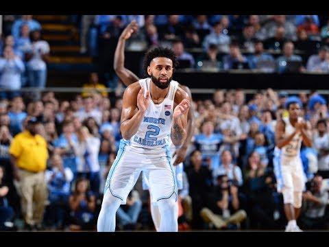 UNC Men's Basketball: Johnson Paces Heels in Win Over Clemson (видео)