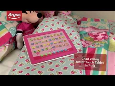 Chad Valley Junior Touch Tablet in Pink Review by Argos