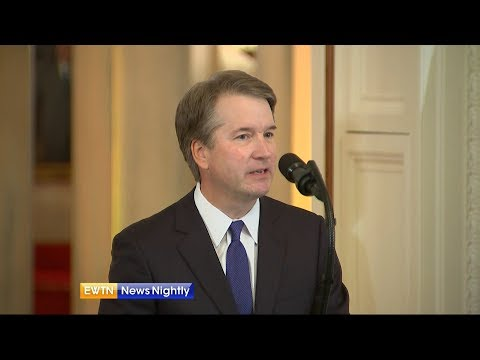 Supreme Court Nominee's Catholic Faith Plays Major Role in His Life - ENN 2018-07-10