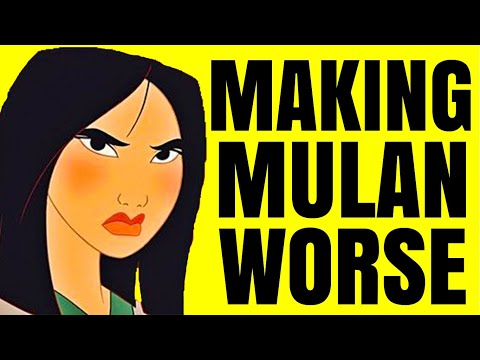 Mulan (2020) is a Trainwreck
