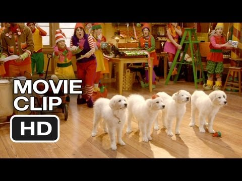 Santa Paws 2: The Santa Pups DVD CLIP - Santa Pups Introduction (2012) HD