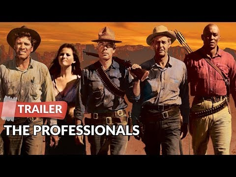 The Professionals 1966 Trailer HD | Burt Lancaster | Lee Marvin | Robert Ryan