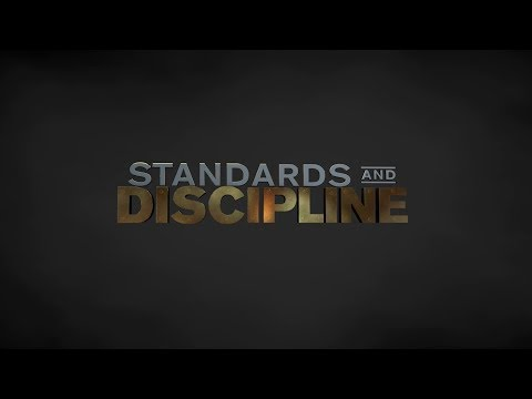 Standards and Discipline Theme Video Screenshot
