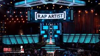 Nicki Minaj WON 'BEST RAP ARTIST' at Billboard Music Awards 2013 (HD)