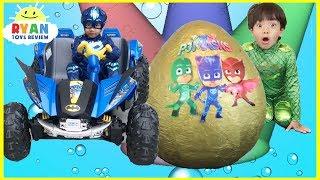 Video Pj Masks Toys videos Compilation for Kids! Giant Egg Surprise Headquarters Playset Catboy Gekko MP3, 3GP, MP4, WEBM, AVI, FLV Juli 2018