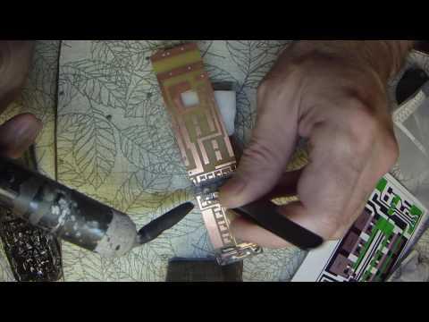 электроудочка на ручке удилища для лова с берега