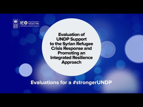 Evaluation of UNDP Support to the Syrian Refugee Crisis Response