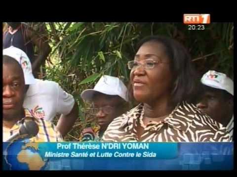 Santé: 7ème édition de la semaine nationale de lutte contre le Sida dans la ville de Bouaflé