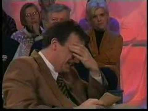 tvshow tv show - This guy can´t stop laughing at his guest´s voice. To make things worse, there are two strange voices in his talk show. That laughter cost him his career, an...
