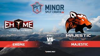 EHOME vs Majestic Esports (карта 2), OGA Dota PIT Minor 2019, | Групповой этап