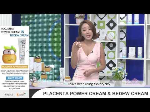 Vispera Placenta Power Cream + Bedew Cream