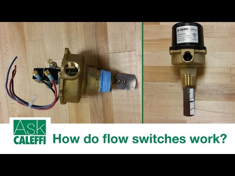 How do flow switches work?