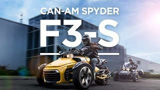 10. 2018 Can-Am Spyder F3-S