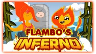Adventure Time - Flambo's Inferno [ Full Games ] - Adventure Time Games ᴴᴰ