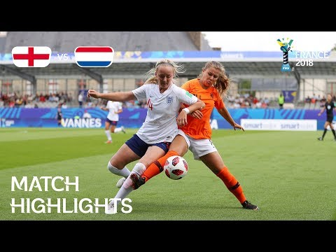 England V Netherlands FIFA U 20 Women's World Cup France 2018 Match 27