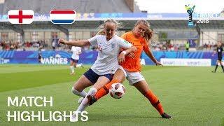 Video England v Netherlands - FIFA U-20 Women's World Cup France 2018 - Match 27 MP3, 3GP, MP4, WEBM, AVI, FLV November 2018
