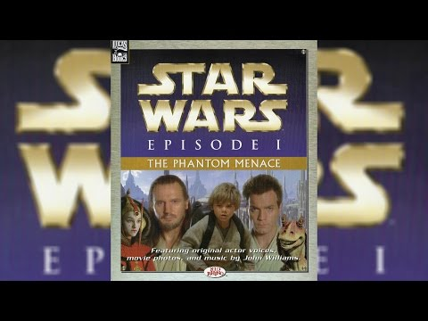 1999 Star Wars Episode I The Phantom Menace Read-Along Story Book and CD