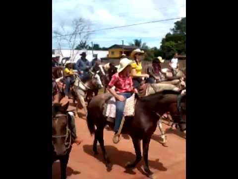 Cavalgada no Centro Acrelandia
