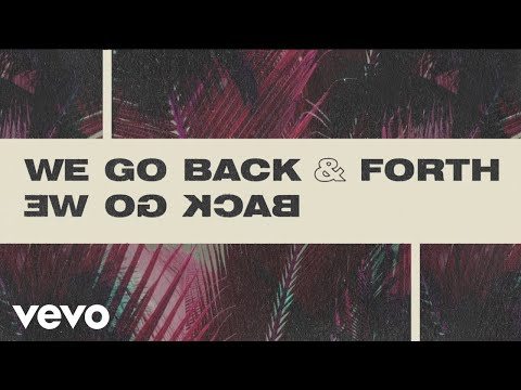 MK, Jonas Blue, Becky Hill - Back & Forth (Official Lyric Video)
