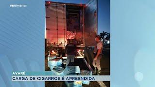 525 mil maços de cigarros apreendidos na Castelo Branco em Avaré