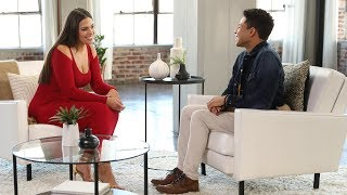 Video 'Fearless': Ashley Graham Helps Singer Overcome Anxiety, Surprises Him with Ricky Martin! MP3, 3GP, MP4, WEBM, AVI, FLV Desember 2018