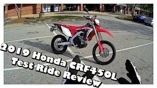 7. 2019 Honda CRF 450L Test Ride Review