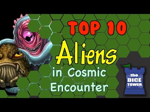 Top 10 Aliens from Cosmic Encounter