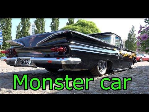 В8 монстер кар- В8 автомобиль-Старые классические автомобили
