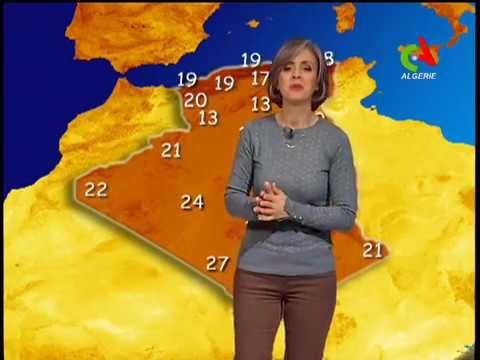 Retrouvez la météo du lundi 17 décembre 2018 Canal Algérie