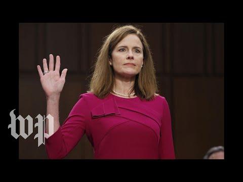 Amy Coney Barrett sworn in as Supreme Court justice  - 10/26 (FULL LIVE STREAM)