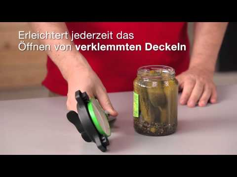 Kuhn Rikon Deluxe Gripper Deckelöffner (deutsch)