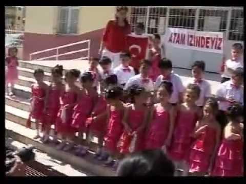 Toroslar Atatürk İlköğretim Okulu Anasınıfı-23 Nisan Gösterisi-2012