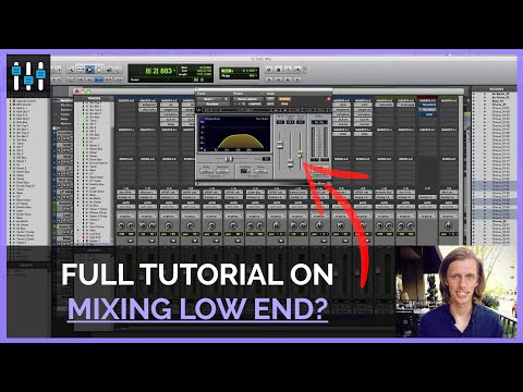 Tips for Mixing Low End (Waves MaxxBass, H-EQ and NLS)