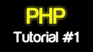 PHP Tutorial 1 - Introduction (PHP For Beginners)