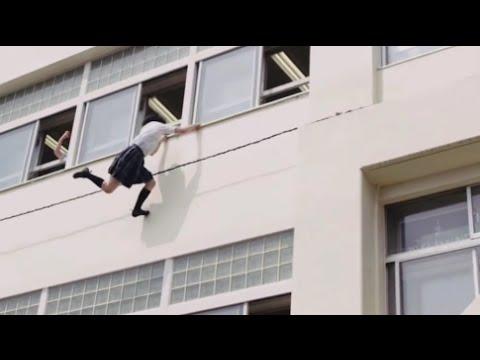 Real Life Naruto Japanese Girl Ninja in Action Again MUST WATCH (видео)