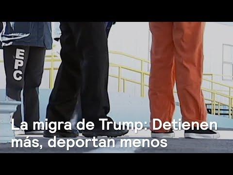 Migra de Trump: Detienen más, deportan menos - En Punto con Denise Maerker