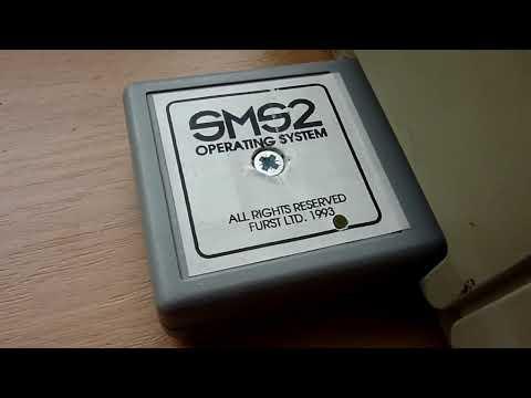 SMS2 OS (Sinclair QL Qdos successor) for ATARI ST 1993
