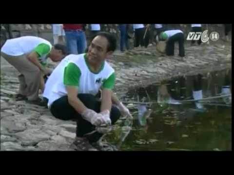 Người dân Hà Nội ra quân bảo vệ ao hồ