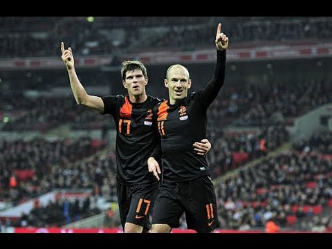 Holland - England vs Holland Wednesday, 29/02/2012 Kick off 20:00 GMT at Wembley Stadium International Match England - Cahill 85' Young 90' Holland - Robben 57',90' Hu...