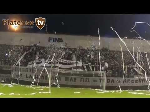 """Fecha 40° - 12/5/2013 - Platense 1 vs Los Andes 0 - """"Todos piantaos"""" - La Banda Más Fiel - Atlético Platense"""