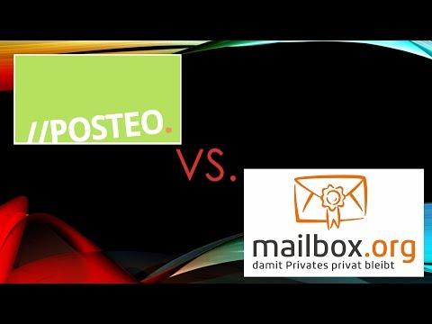 [Test] Posteo und Mailbox.org im Vergleich