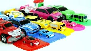Video Transformers Carbot  Tobot Watch Car 5 Color Slime Monster Car Toys 헬로카봇 와치카 미니특공대 또봇 액체괴물 5색 장난감 MP3, 3GP, MP4, WEBM, AVI, FLV Juli 2018