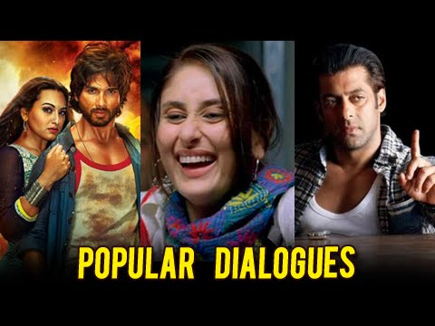 Bollywood's Most Popular Dialogues   MUST WATCH